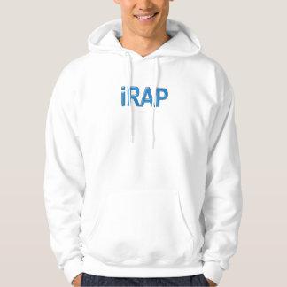 RAP iRAP Rapper Rap music MC emcee girls guys Hoodie