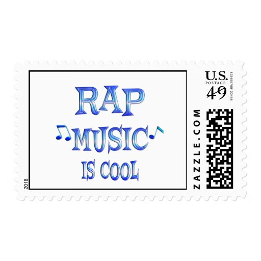 Rap is Cool Stamps