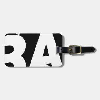 Rap Luggage Tag
