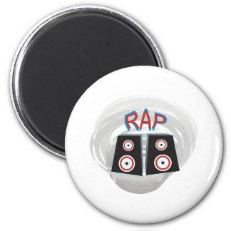RAP FRIDGE MAGNET