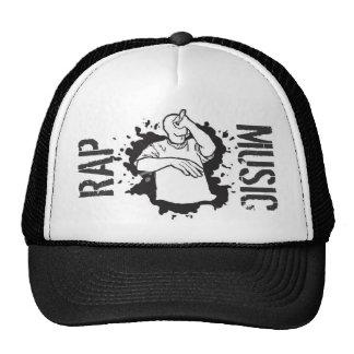 RAP MUSIC - Trucker gorro Cap gorro Basecap Caps