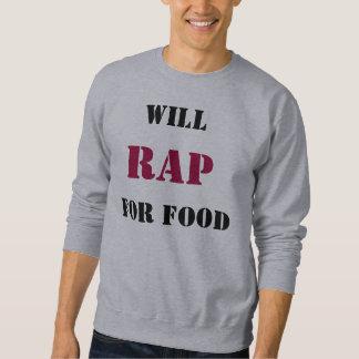 Rap para la camiseta de la comida jersey
