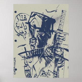 Rap Radio Man Print/Poster