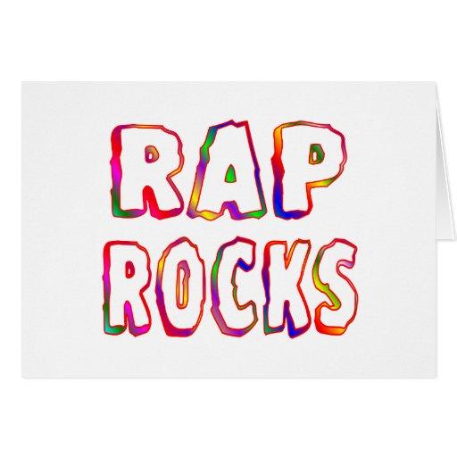 Rap Rocks Card