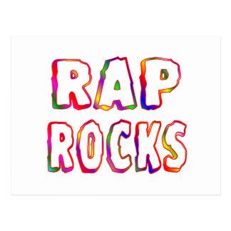 Rap Rocks Post Card