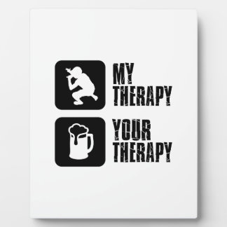 Rap  therapy designs plaques