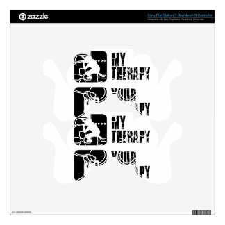 Rap  therapy designs PS3 controller skin
