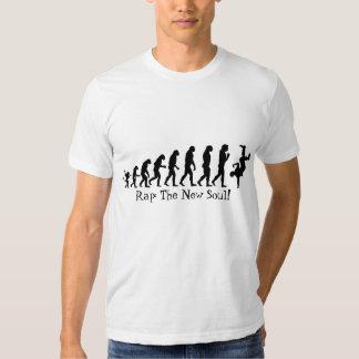 Rap v Soul Music Fitted Shirt