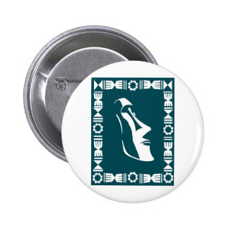 Rapa Nui 2 Inch Round Button