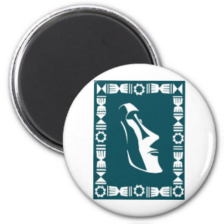 Rapa Nui 2 Inch Round Magnet