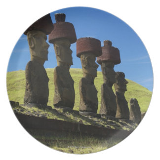 Rapa Nui artifacts, Easter Island Dinner Plate