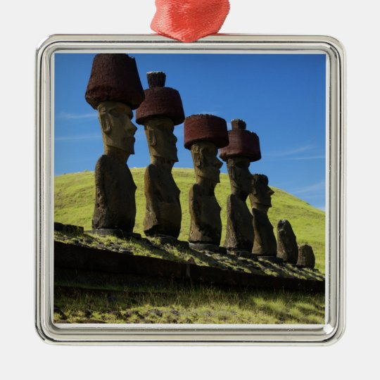 Rapa Nui artifacts, Easter Island Metal Ornament