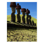 Rapa Nui artifacts, Easter Island Post Card