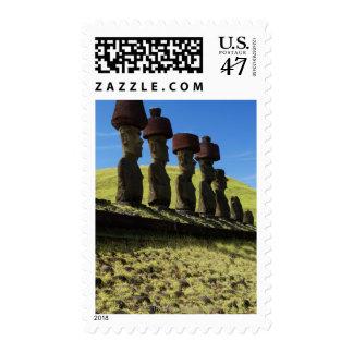 Rapa Nui artifacts, Easter Island Postage