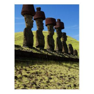 Rapa Nui artifacts, Easter Island Postcard