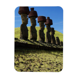 Rapa Nui artifacts, Easter Island Rectangular Photo Magnet