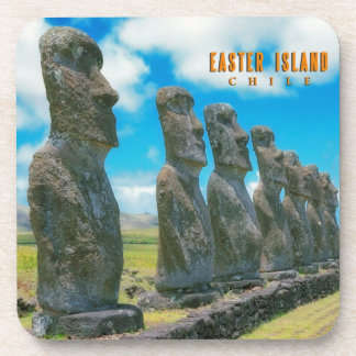 Rapa Nui,Easter Island Beverage Coaster