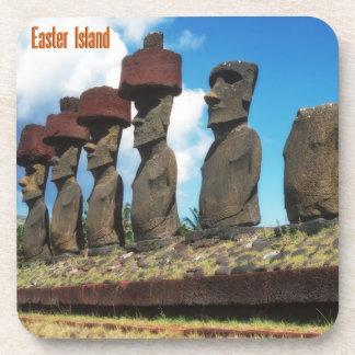 Rapa Nui,Easter Island Drink Coaster