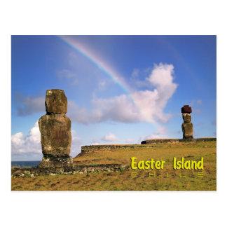 Rapa Nui, Easter Island Postcard