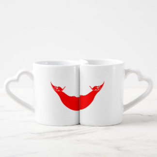 RAPA NUI FLAG COUPLES' COFFEE MUG SET