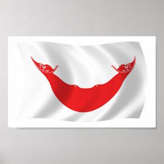 Rapa Nui Flag Poster Print