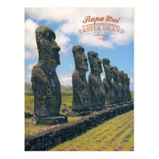 Rapa Nui (isla de pascua) Postal