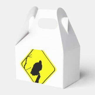 Rapaces de la observación de pájaros del amor de cajas para regalos de boda