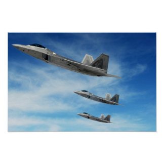 Rapaces F-22 Posters