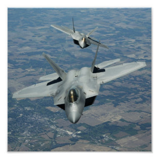 Rapaces F-22 Poster