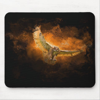 Rapacious Owl Mouse Pad