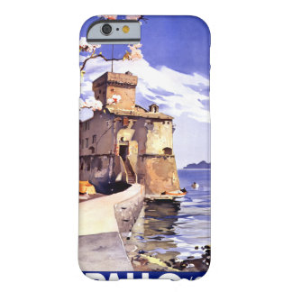 Rapallo Genova Italy Vintage Travel Poster Barely There iPhone 6 Case