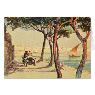 Rapallo, Italy - Vintage Italian Art Card