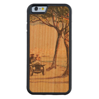 Rapallo, Italy - Vintage Italian Art Carved Cherry iPhone 6 Bumper Case