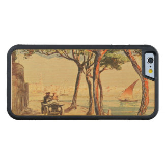 Rapallo, Italy - Vintage Italian Art Carved Maple iPhone 6 Bumper Case
