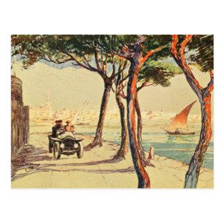 Rapallo, Italy - Vintage Italian Art Postcard
