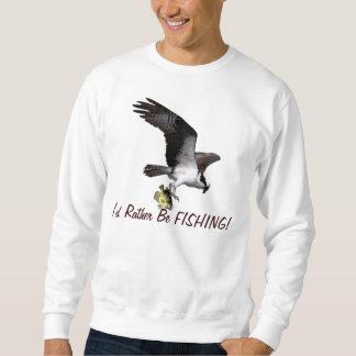 Rapaz de Osprey del vuelo estaría pescando Sudadera