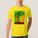 Rapaz del zombi - la camiseta de los hombres playera
