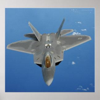 Rapaz F-22 sobre el Pacífico Poster