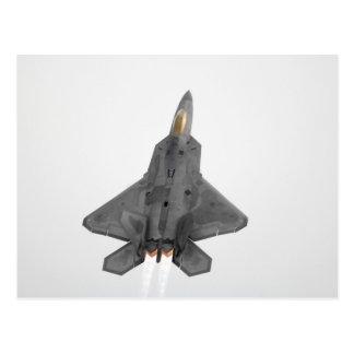 Rapaz F-22 Tarjeta Postal