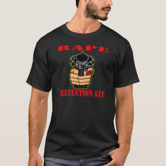 Rape Prevention Kit (Loaded Gun) T-Shirt