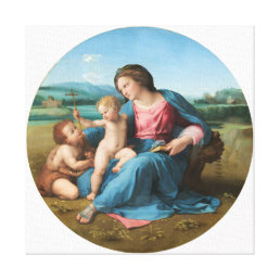 Raphael Alba Madonna Fine Art Canvas Print