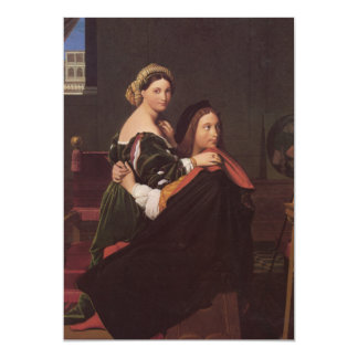 Raphael and the Fornarina fine art Card