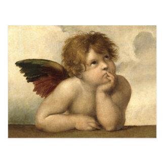Raphael Angel 1 Postcard