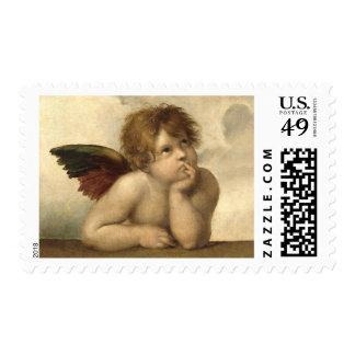 Raphael Angel 1 Stamp