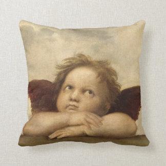 Raphael Angel 1 Throw Pillow