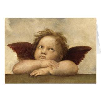Raphael Angel 2 Greeting Card