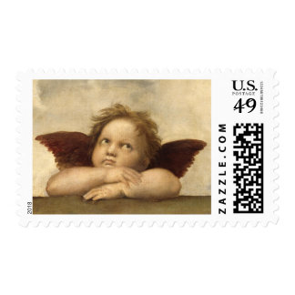 Raphael Angel 2 Postage Stamps