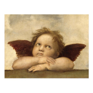 Raphael Angel 2 Post Card