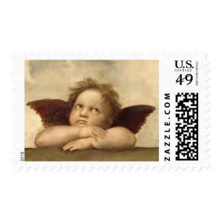Raphael Angel 2 Stamp