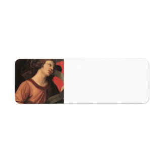 Raphael- Angel, from the polyptych of St. Nicolas Return Address Label